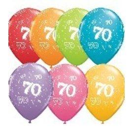 "Latex Balloon-70 A Round Assortment-1pkg-11"""