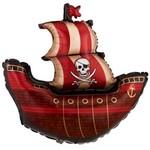 """Foil Balloon - Pirate - 40"""""""