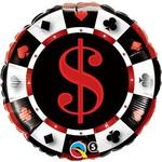 "Foil Balloon - Casino - 18"""