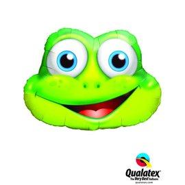 Foil Balloon-Supershape-Cartoon Frog Face