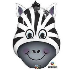 Foil Balloon-Supershape-Zebra