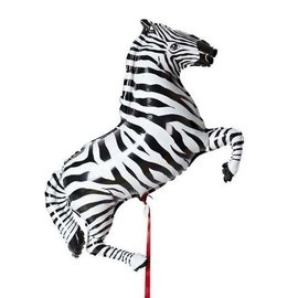 Foil Balloon-Supershape-Full Body Zebra