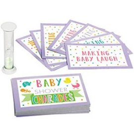 Baby Shower-Charades-1pk
