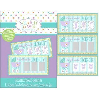 Baby Shower-Scratch to Win-12pk