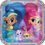 """Foil Balloon - Shimmer and Shine - 17"""""""