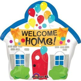 Foil Balloon - Welcome Home! - 20""