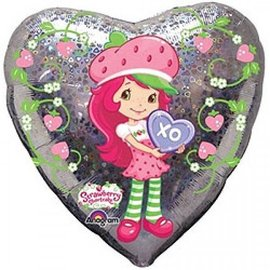 "Foil Balloon - Strawberry Shortcake - 18"""