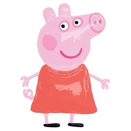 "Foil Balloon - Airwalker - Peppa Pig - 36"" X 48"""