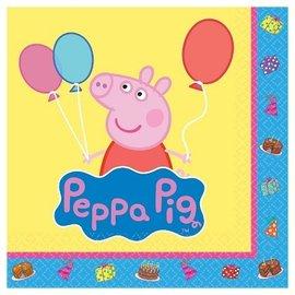 Beverage Napkins-Peppa Pig