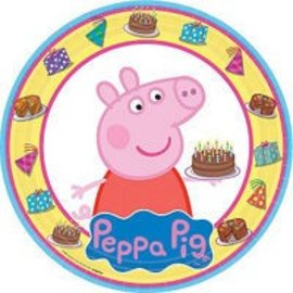 Luncheon Paper Plates-Peppa Pig