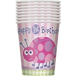 Cups - 1st Birthday Ladybug - Final Sale