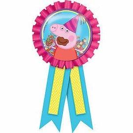 Award Ribbon With Confetti - Peppa Pig