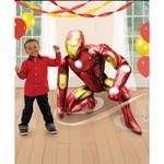 "Foil Balloon - Airwalker - Iron Man - 46"""