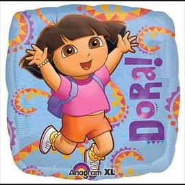 """Foil Balloon - Dora - 17"""""""