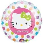 """Foil Balloon - Hello Kitty - 17"""""""