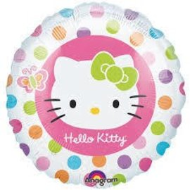 Foil Balloon - Hello Kitty - 17""