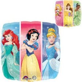 Foil Balloon - Disney Princesses - 17""