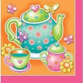Napkins - LN - Tea For You - 16pc (Discontinued)