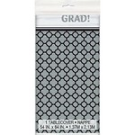 Plastic Tablecover - Quarterfoil Grad (Seasonal) - Discontinued