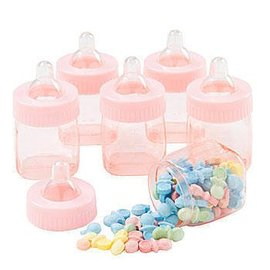 Baby Shower Bottle Favors - Pink