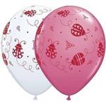 """Latex Balloons - Ladybugs - 11"""""""