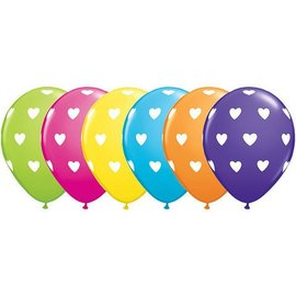 Latex Balloons - Big Hearts - 11""