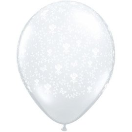 Latex Balloons - Flowers - A - Round - 11""