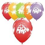 "Latex Balloons - Cute & Cuddly Dinosaurs - 11"""