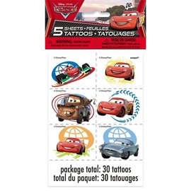 Disney Pixar Cars-Tattoos