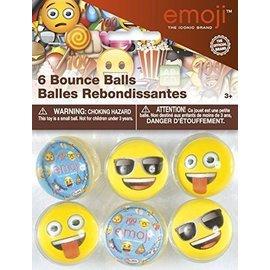 Emoji-Bouncy Balls (6pc)