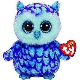 """Beanie Boos-Oscar the Blue/Purple Owl-6"""""""