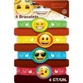 Emoji-Bracelets 4pc