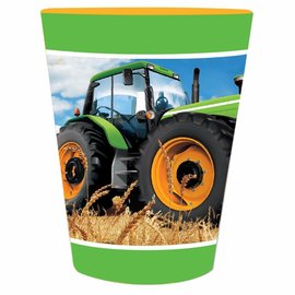Tractor Time-Plastic Reusable Cups- Final Sale