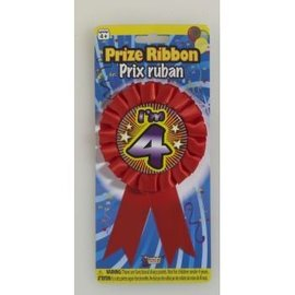 I'm 4 Birthday Ribbon