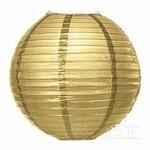 "Paper Lantern-Gold 16"""