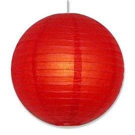 """Paper Lantern-Red 16"""""""