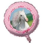 "Foil Balloon-Pink Horse 18"""