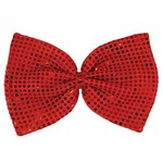 Bow Tie Giant Red Sequin