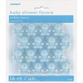 Favors Baby Shower - 16 Pcs - (Blue)