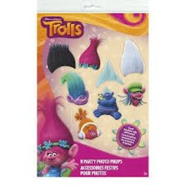 Party Photo Props- Trolls