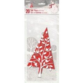 Christmas Gift Bags 20pk