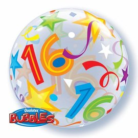 Foil Balloon-16th Birthday Orbz 22""