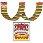 Chinese New Year - Dragon Ceiling Decor-1ftx12ft