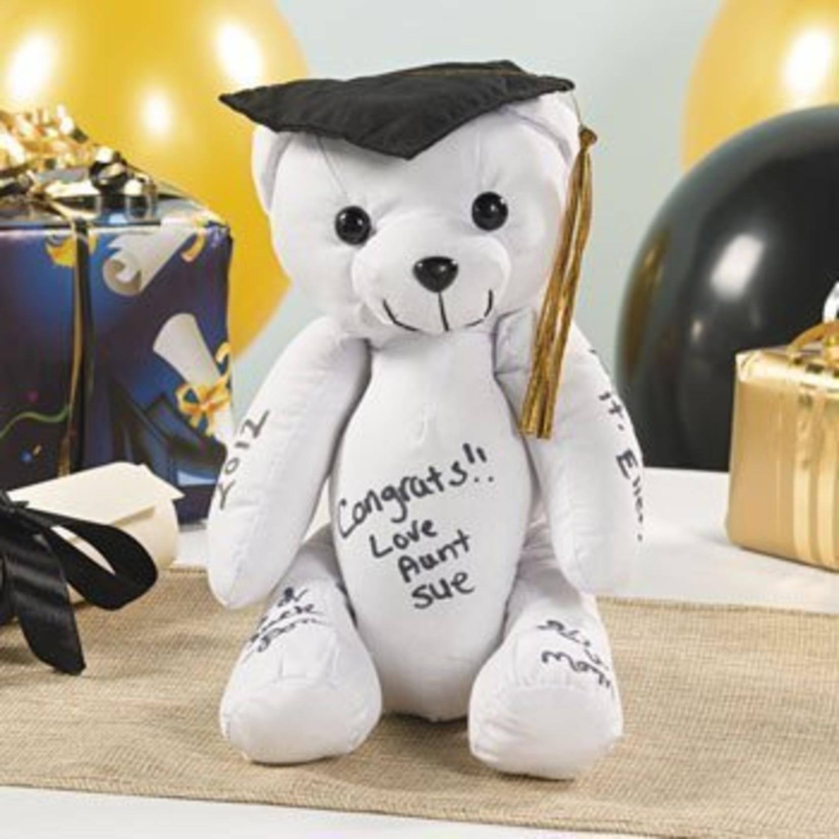 Autograph Graduation Bear