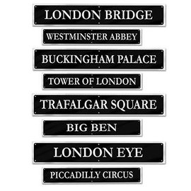 Cutouts-British Street Signs