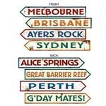 Cutouts-Australian Signs-1.98ft-4pk