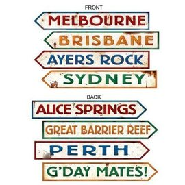 Cutouts-Australian Signs-1.98ft-4pk