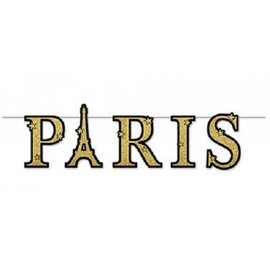 Banner-Paris Glittered