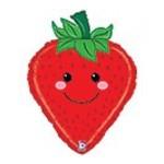 "Foil Balloon - Strawberry 26"""