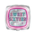 """Foil Balloon - Sweet Sixteen - 18"""""""